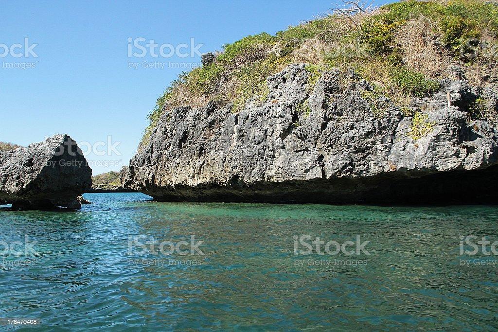 Centinaia di isole nelle Filippine foto stock royalty-free