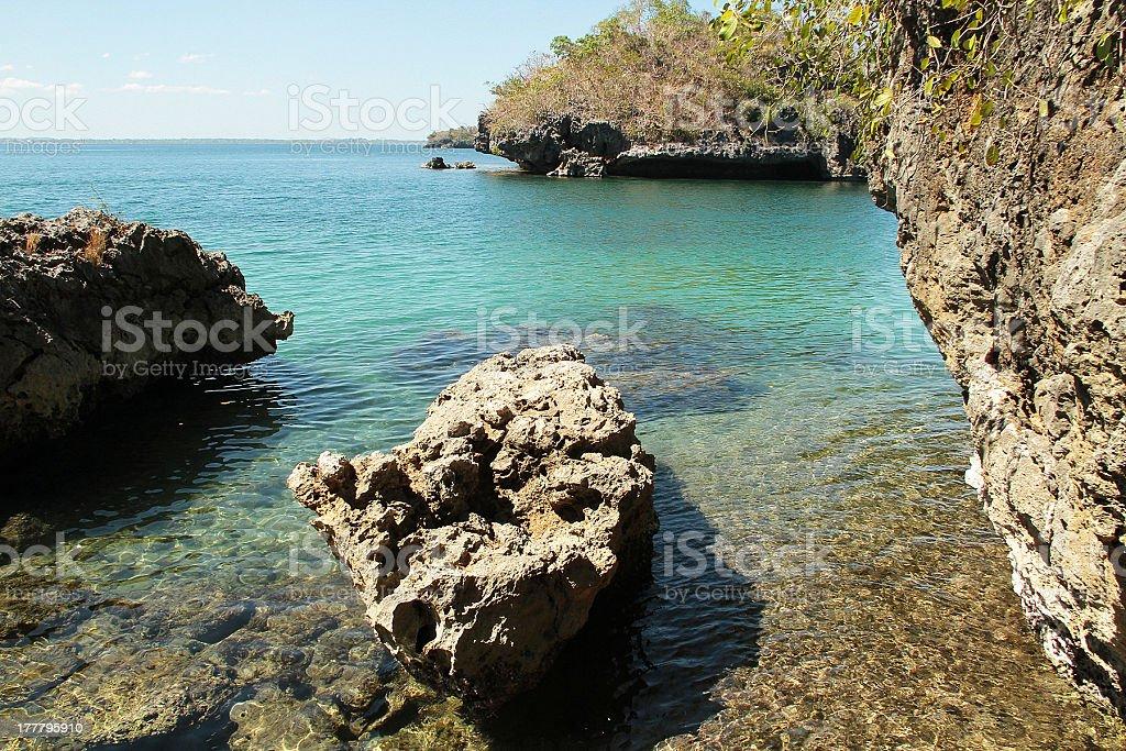 100 isole, Filippine foto stock royalty-free