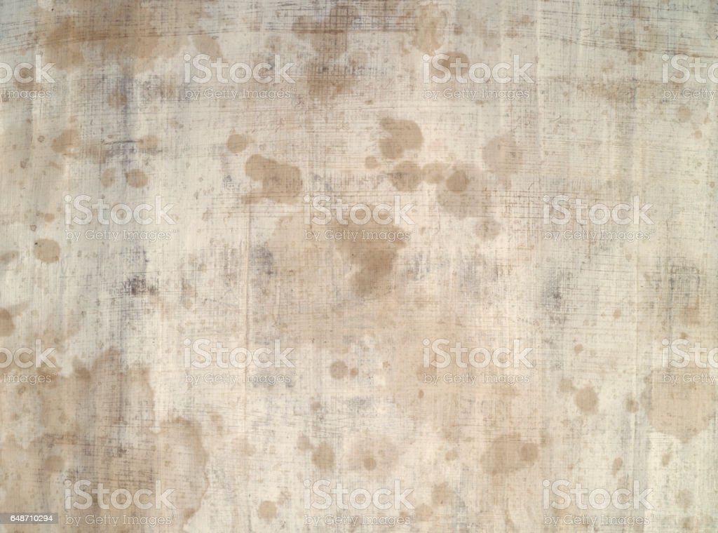 Hundred years old paper stock photo
