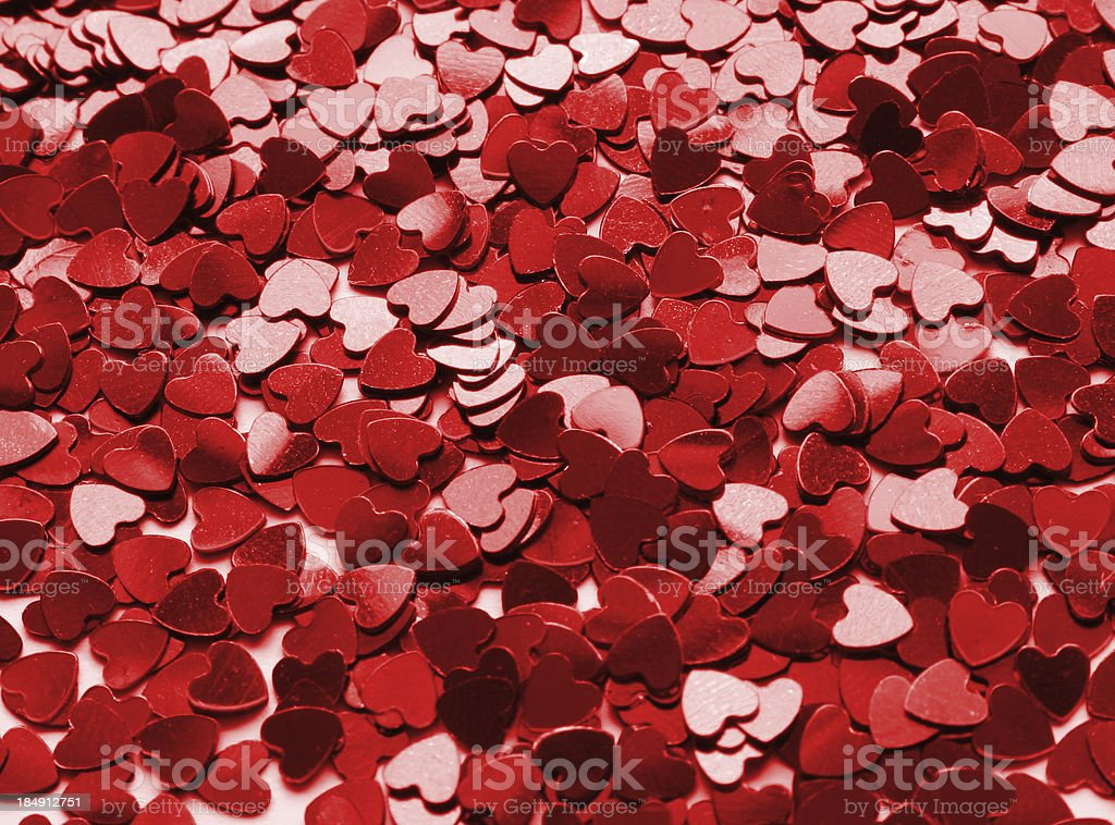 hundreds of hearts for valentines day royalty-free stock photo