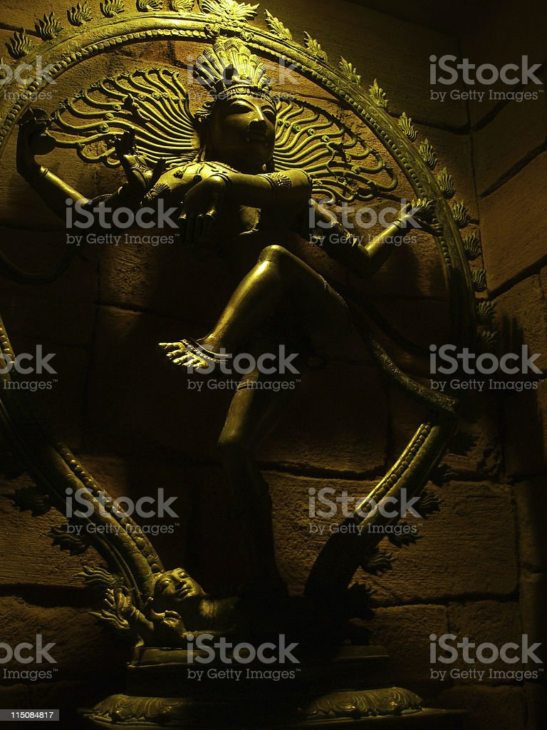 Hunduism - Shiva the Destroyer of Worlds royalty-free stock photo