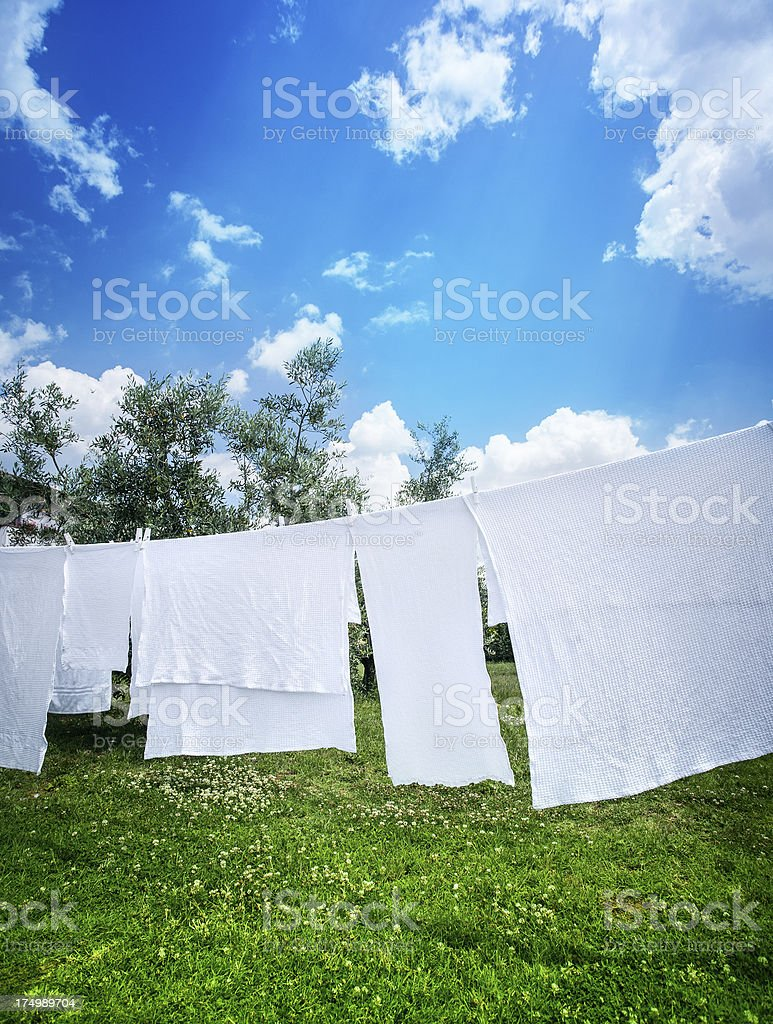 Hung Out To Dry royalty-free stock photo