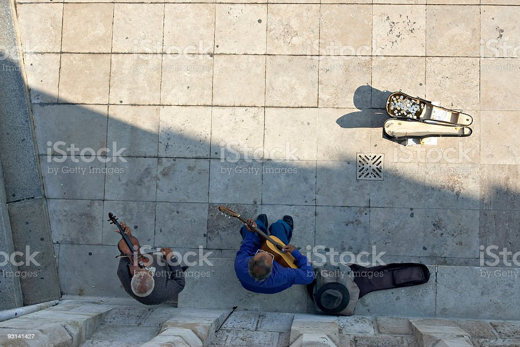 Hungarian musicianes royalty-free stock photo