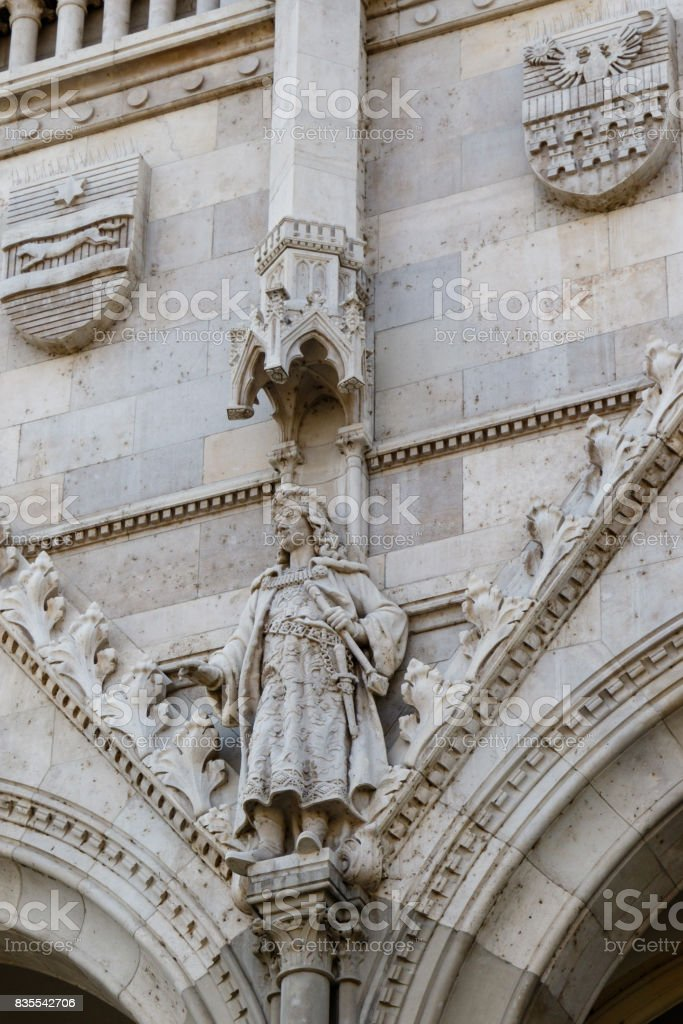 hungarian parliament architecture stock photo