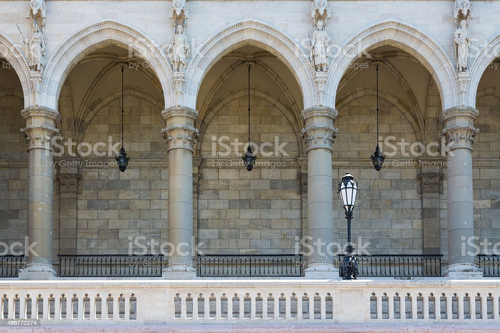 Hungarian Parliament Building - Orsz?gh?z - Budapest stock photo