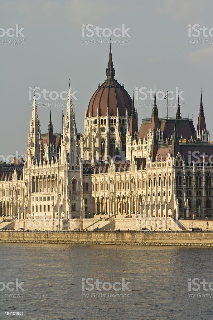 Hungarian Parliament royalty-free stock photo