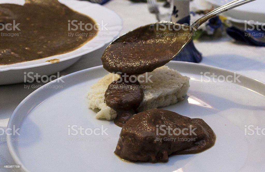 Hungarian stew stock photo
