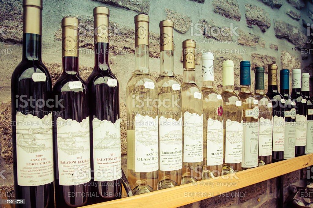 Hungarian Wines stock photo