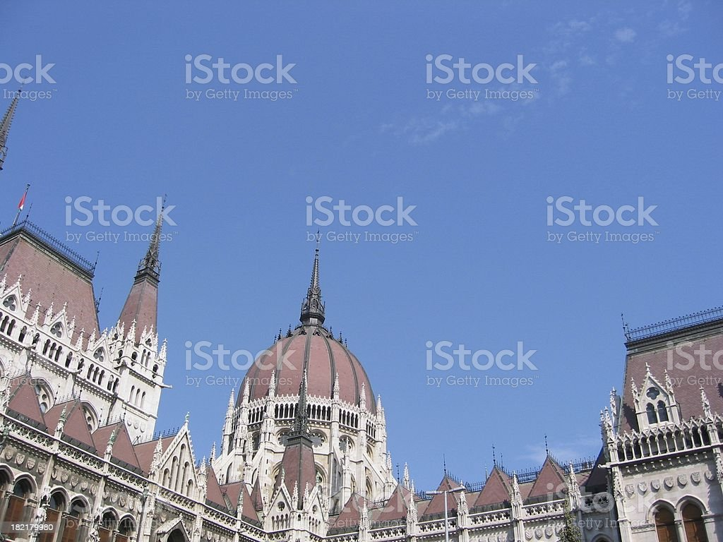 Hungary Houses of  Parliment royalty-free stock photo