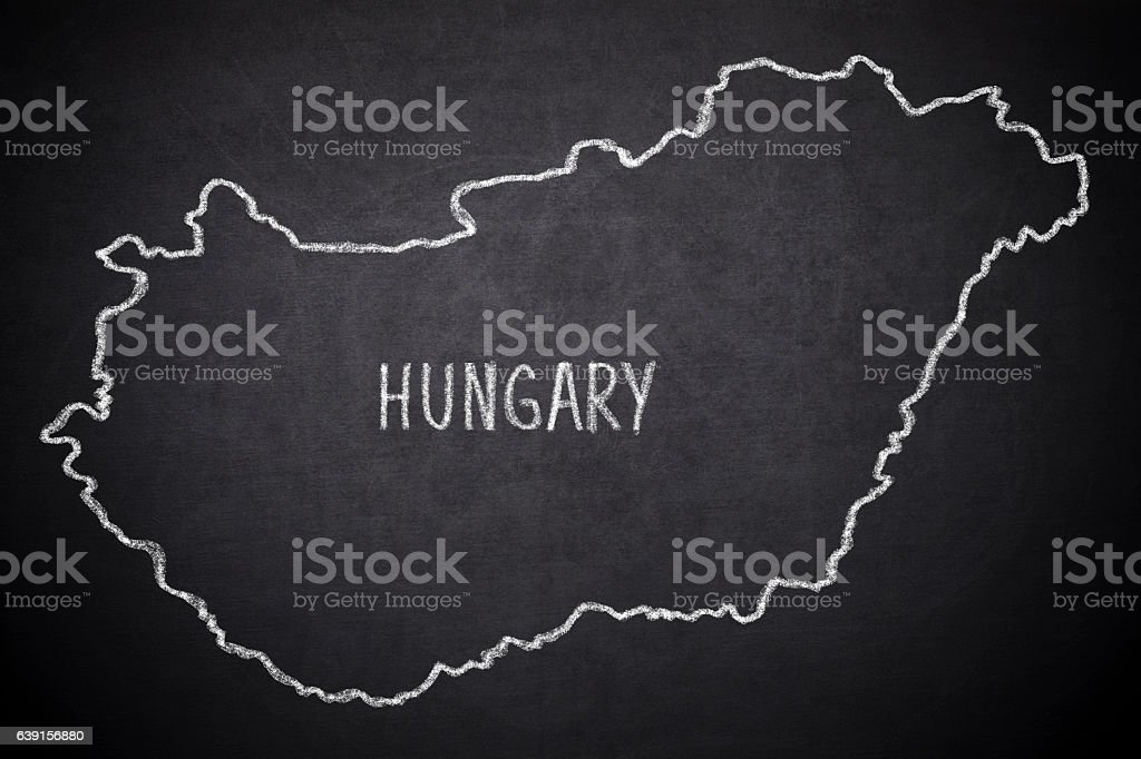 Hungary vector art illustration
