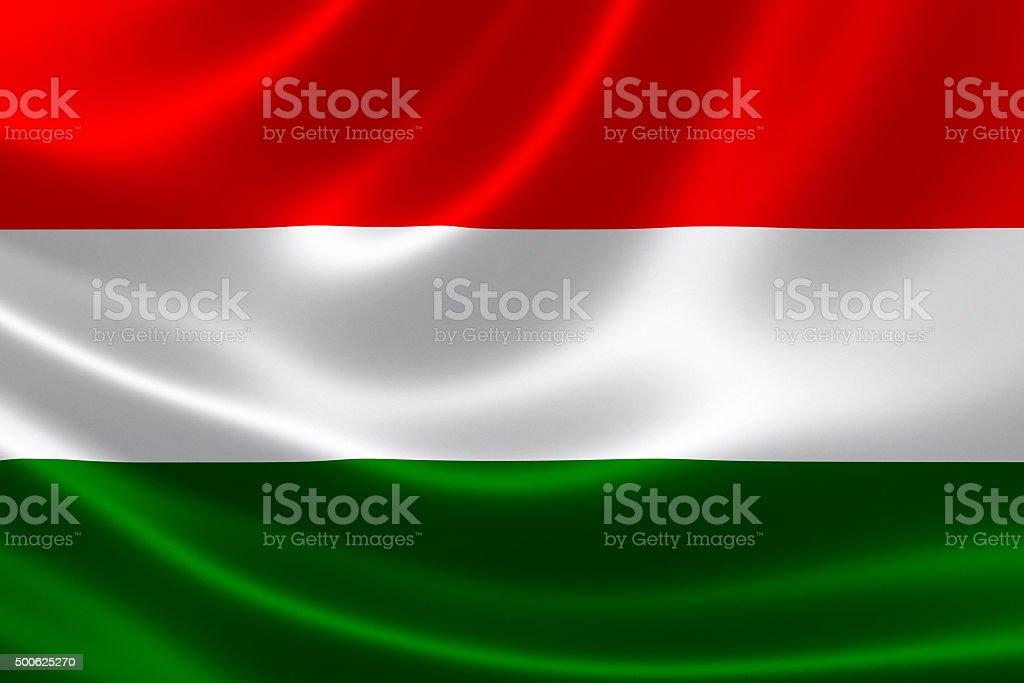 Hungary's National Flag stock photo