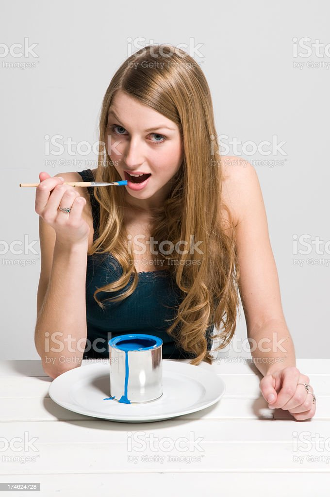 hungry for color? royalty-free stock photo