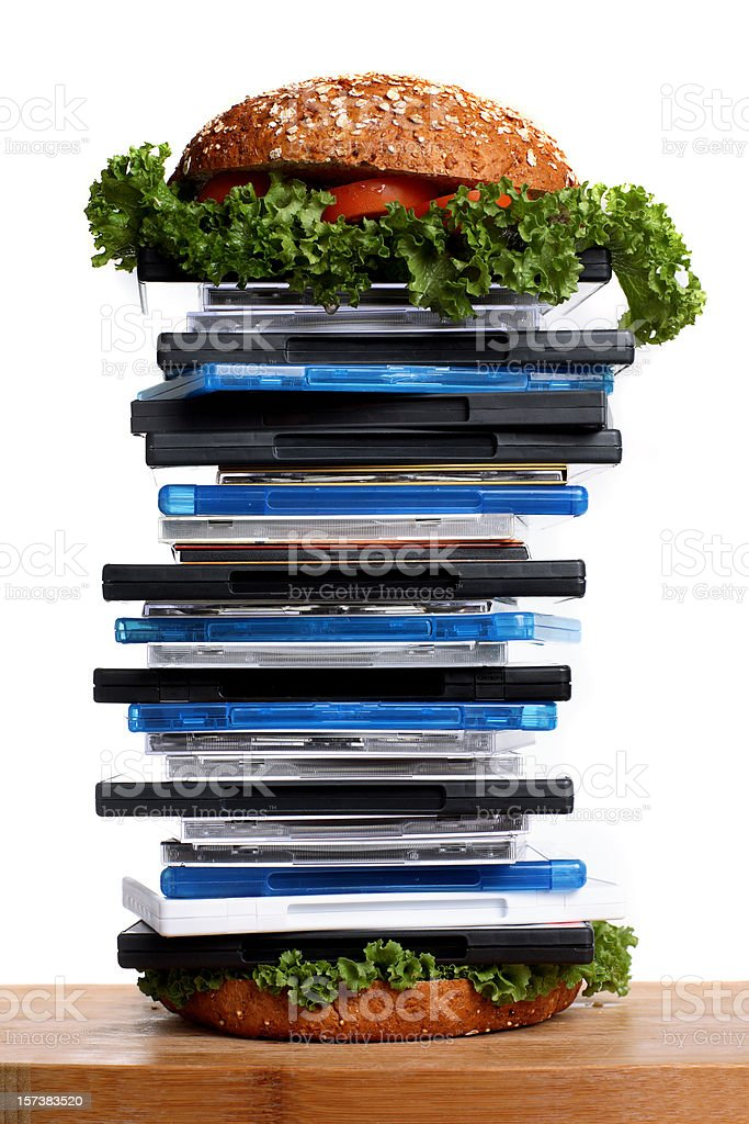 hungry for entertainment royalty-free stock photo