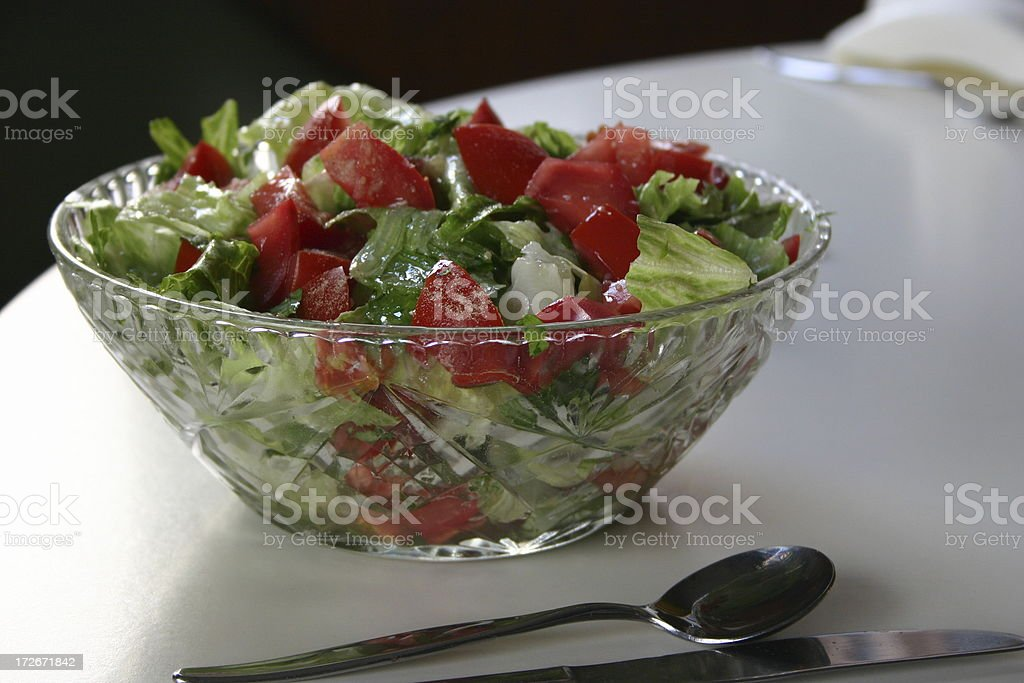 Hungry for Some Salad? royalty-free stock photo