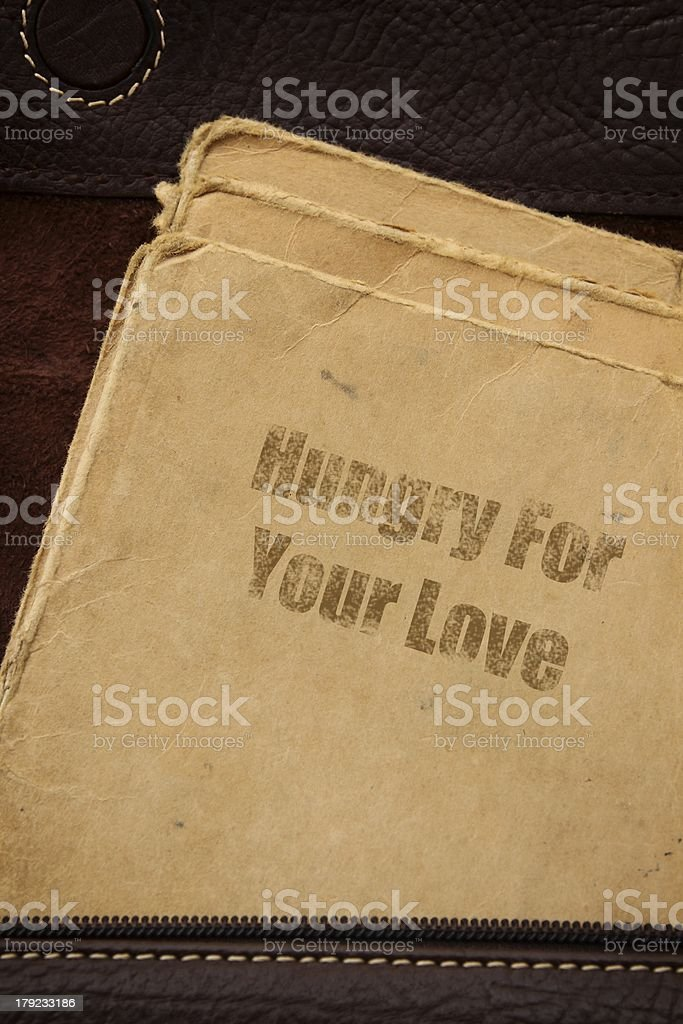 Hungry for Your Love royalty-free stock photo