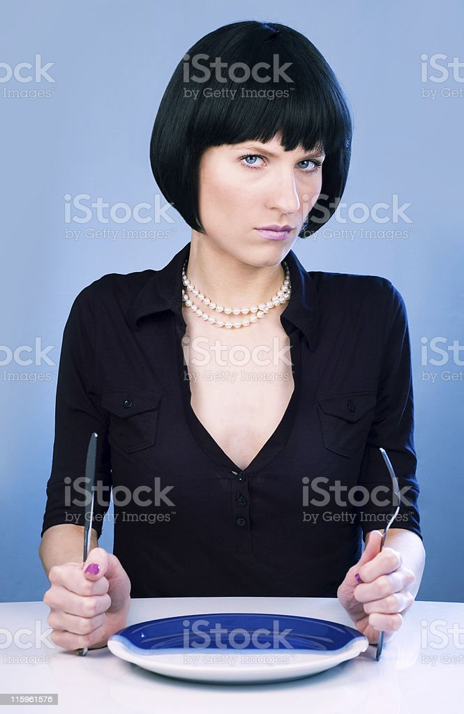 hungry royalty-free stock photo