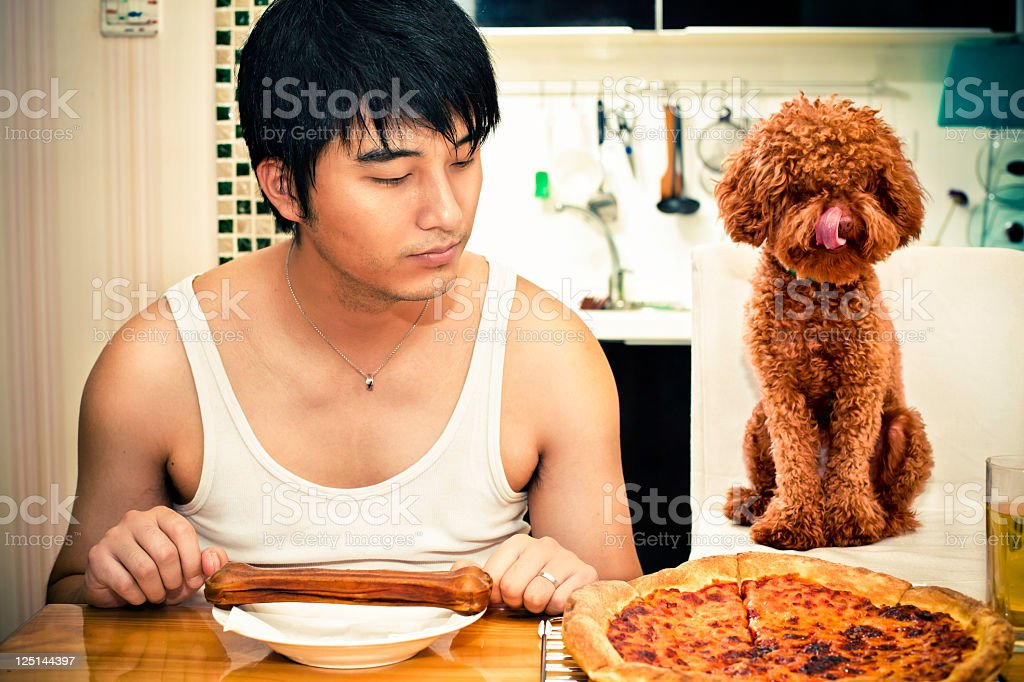 hungry stock photo