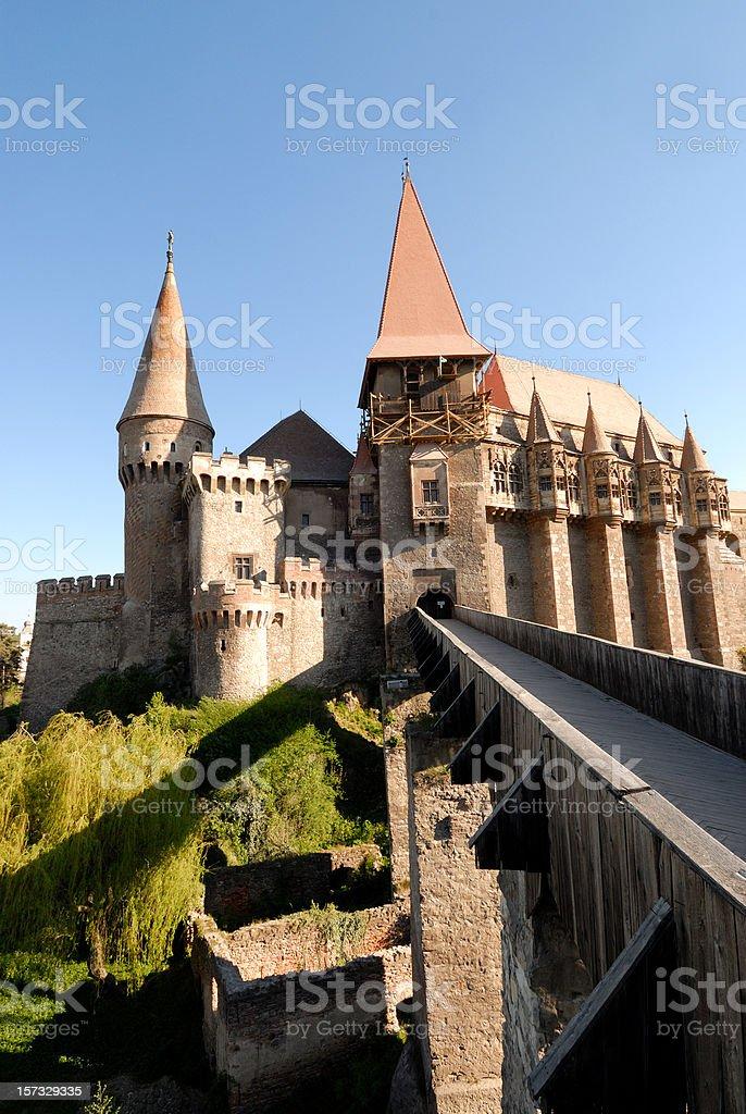 Huniaziolor castle royalty-free stock photo