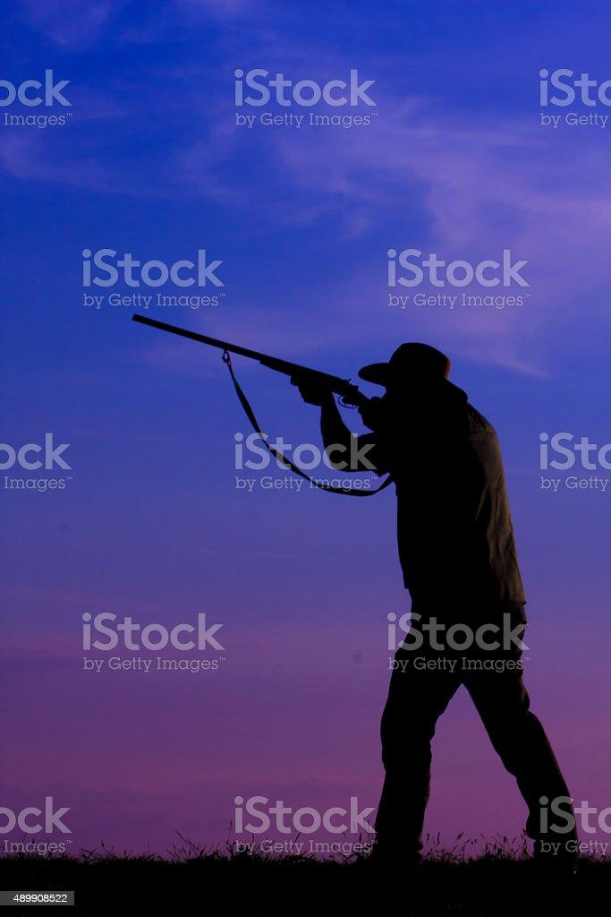 hunter hunting stock photo