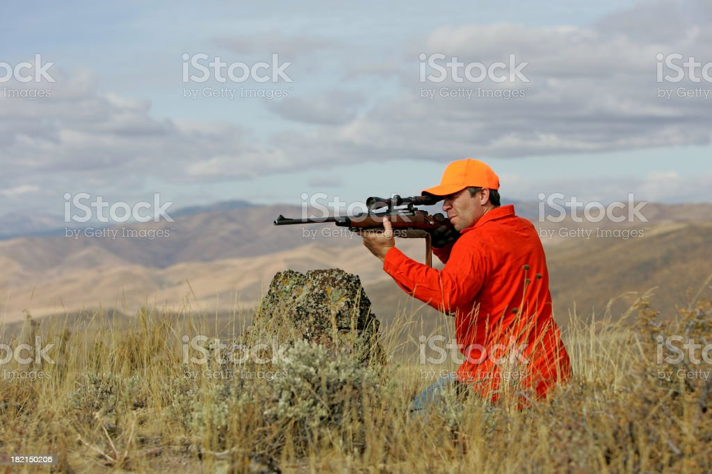 hunter royalty-free stock photo