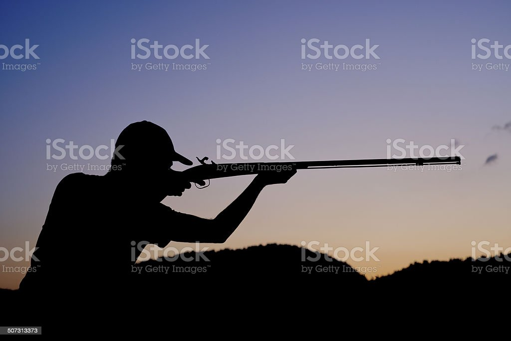 Hunter stock photo