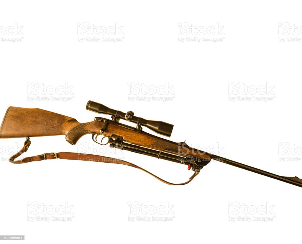hunting carbine stock photo