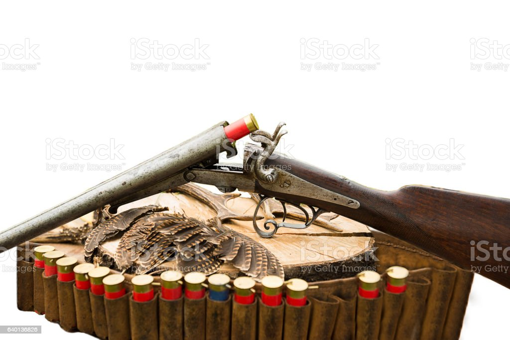 hunting concept stock photo