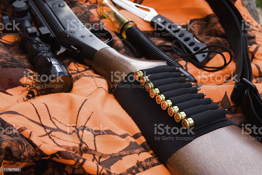 Hunting Gear stock photo