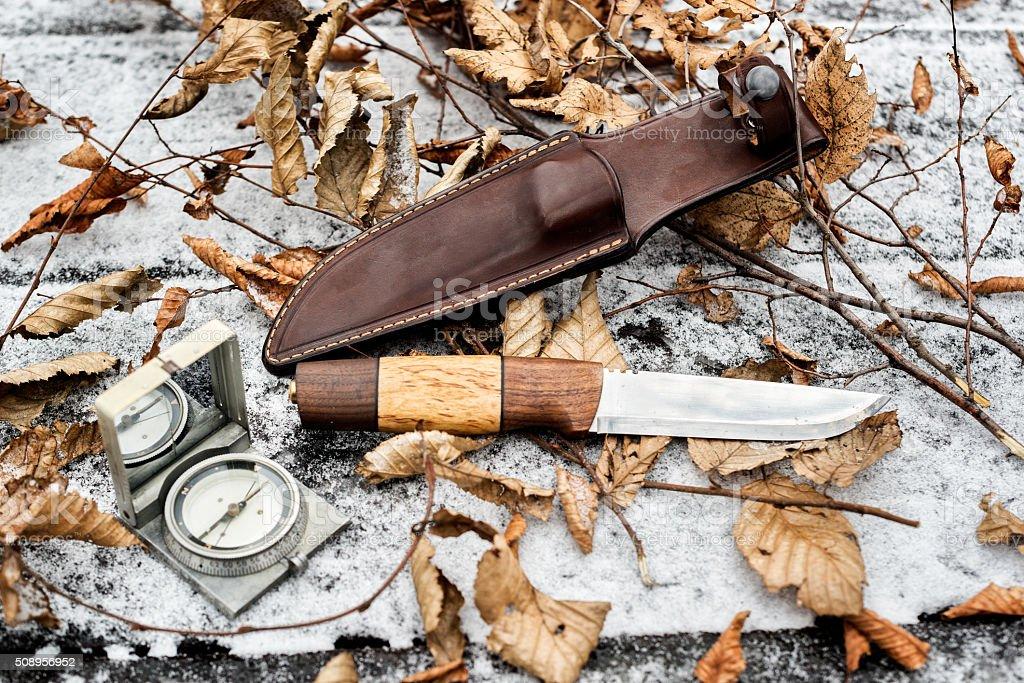 Hunting gear stock photo