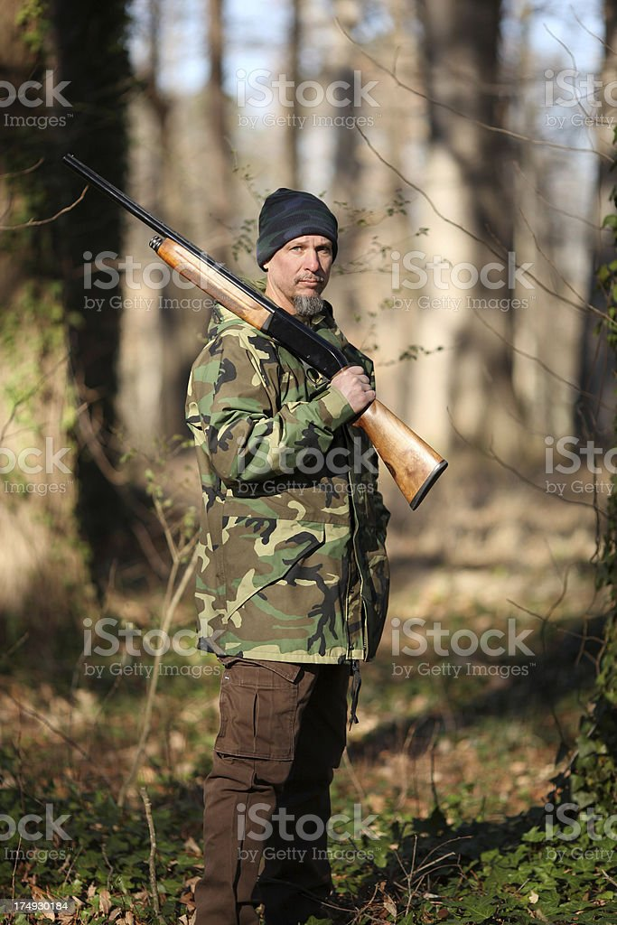 Hunting royalty-free stock photo