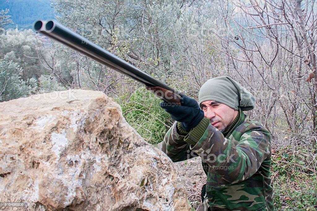 Hunting stock photo