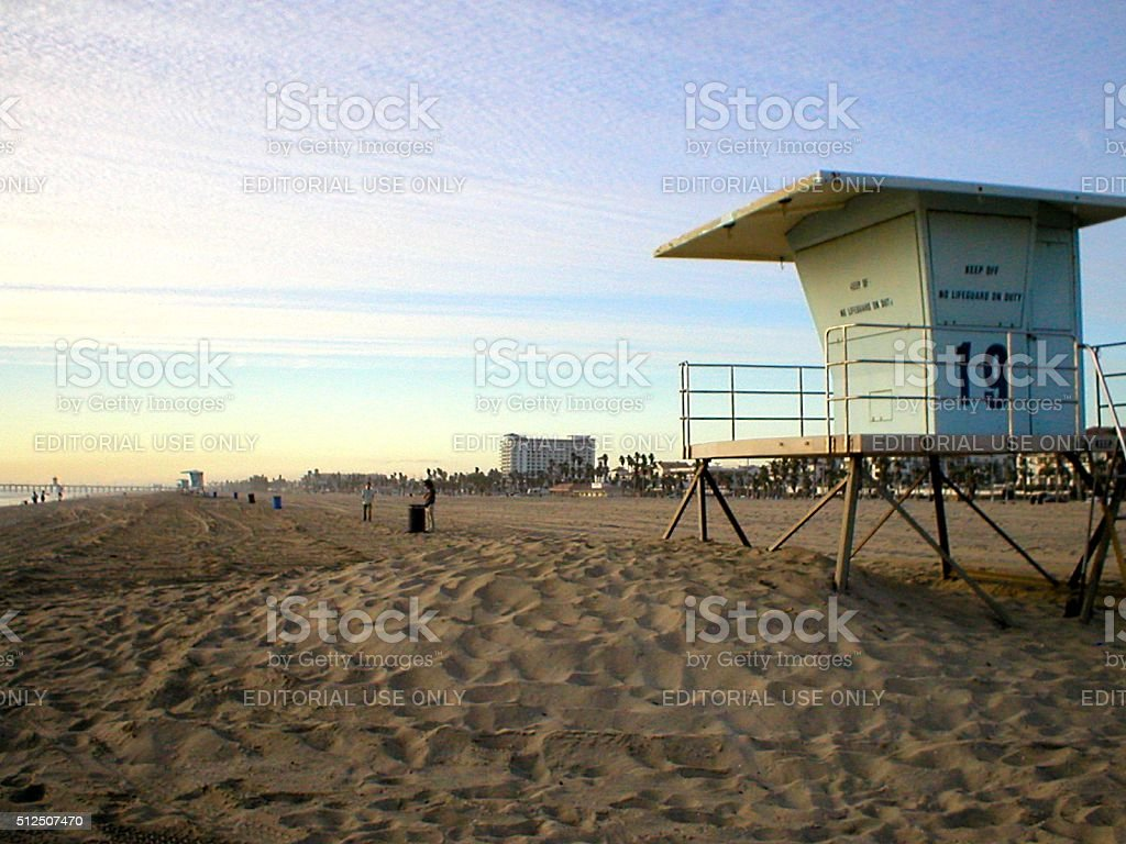 Huntington beach california stock photos and pictures getty images - Huntington Beach At Sunset Los Angeles California Royalty Free Stock Photo