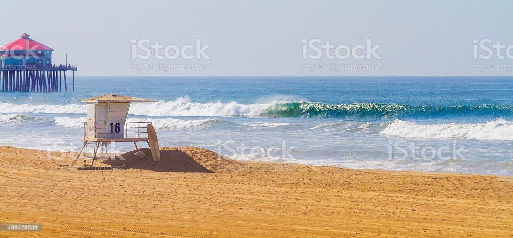 Huntington Beach, CA stock photo