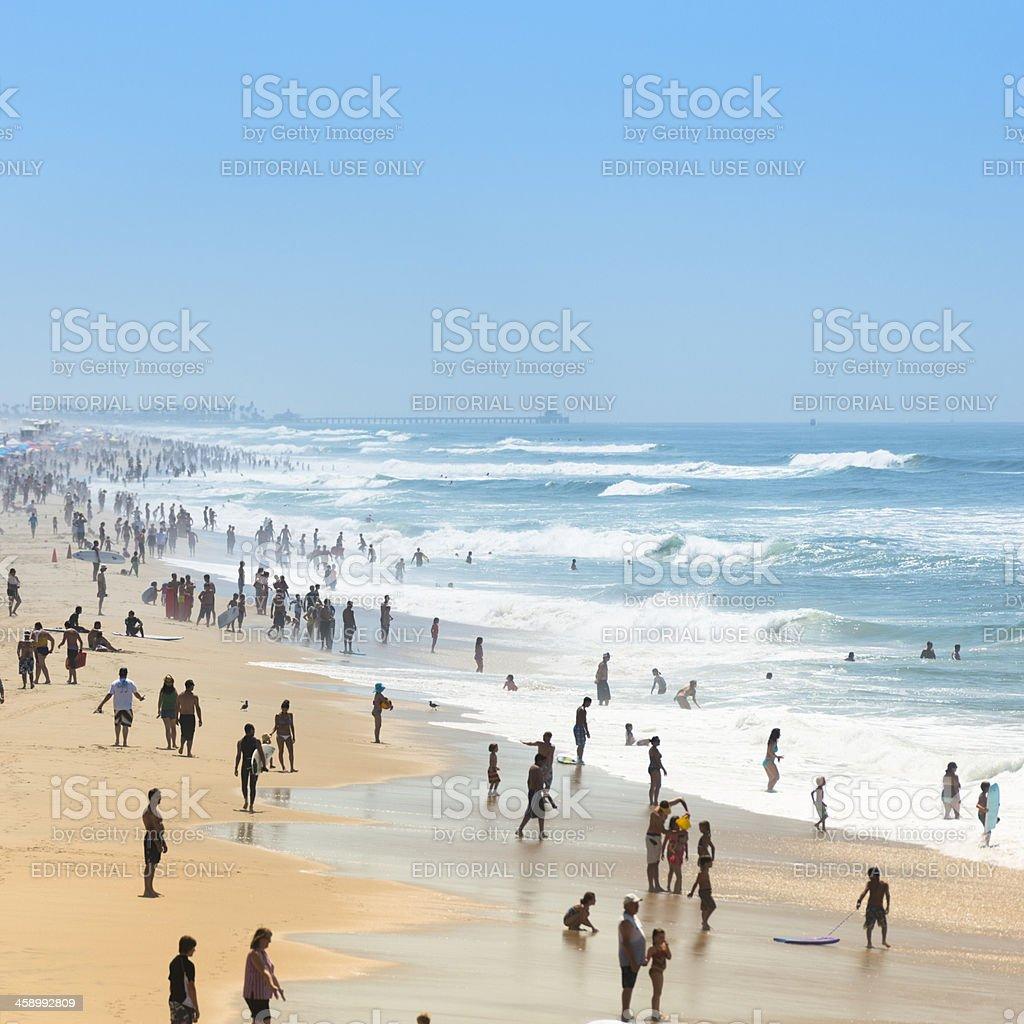 Huntington beach california stock photos and pictures getty images - Huntington Beach On A Summer Day California Royalty Free Stock Photo