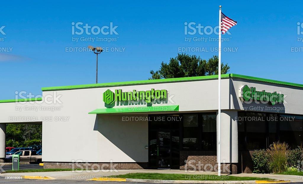 Huntington National Bank stock photo