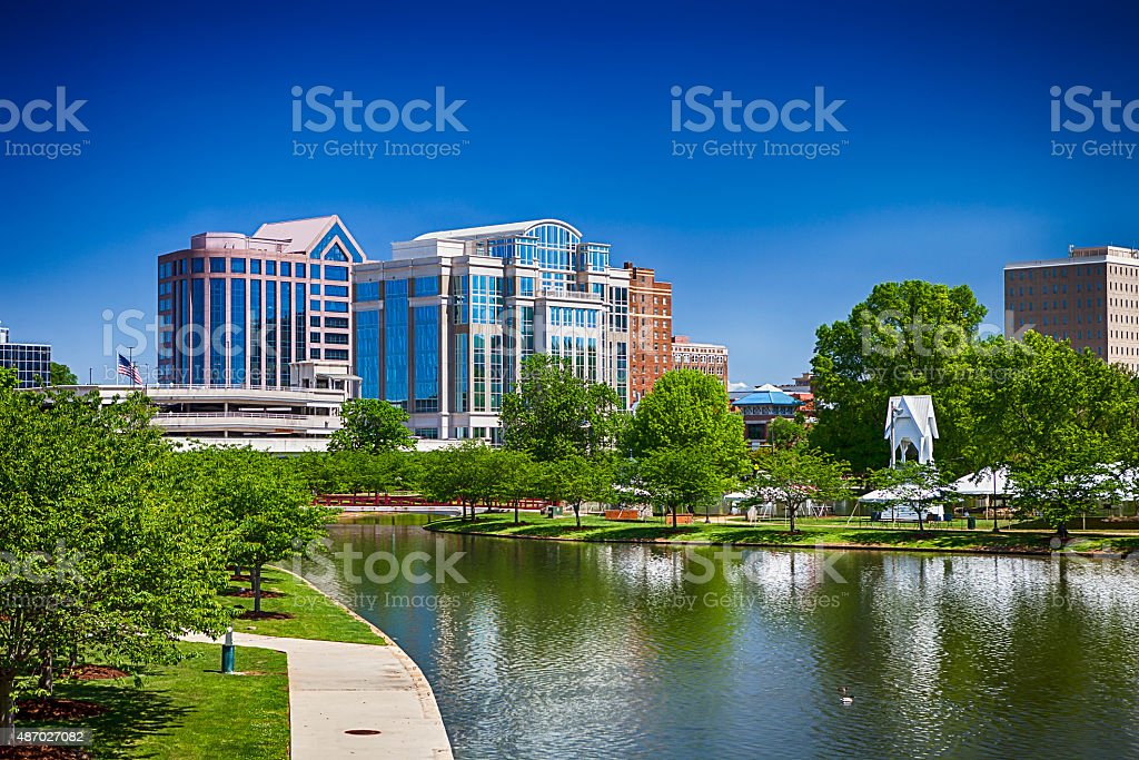 Huntsville, Alabama stock photo