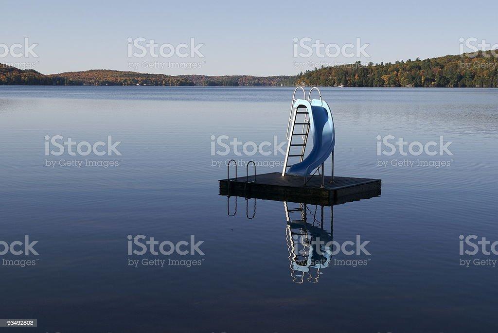 Huntsville lake stock photo