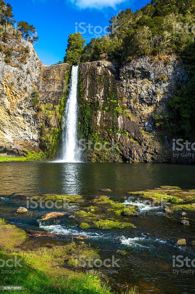 Hunua Falls stock photo