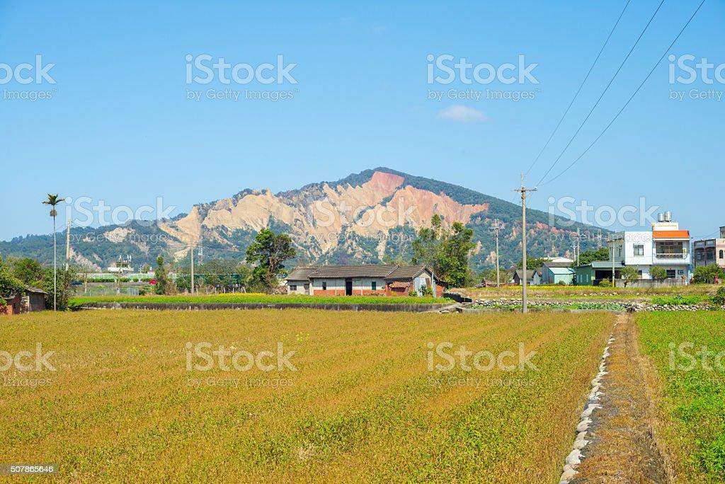 huo yan shan stock photo