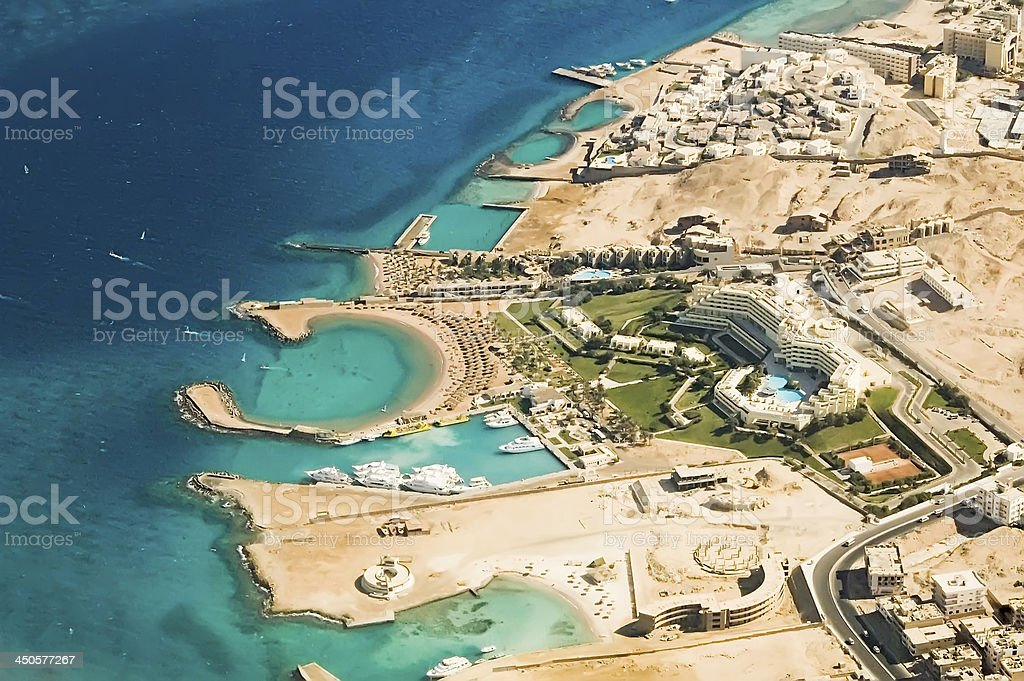 Hurghada Coast. Egypt stock photo