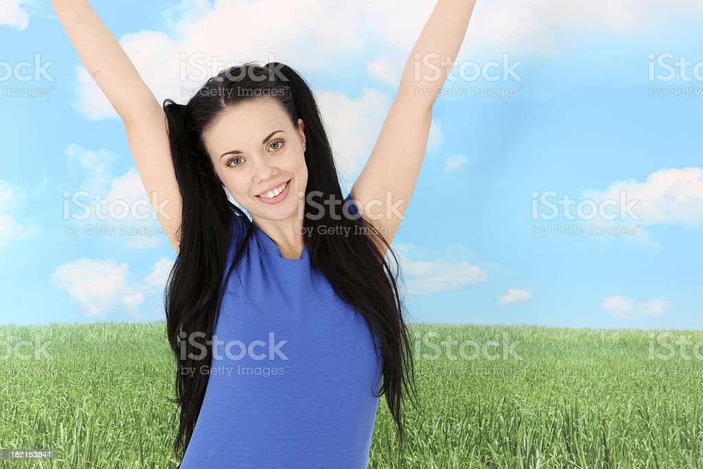 Hurray stock photo