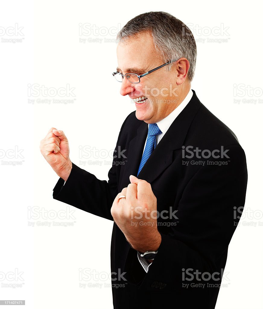 Hurray we did it! royalty-free stock photo
