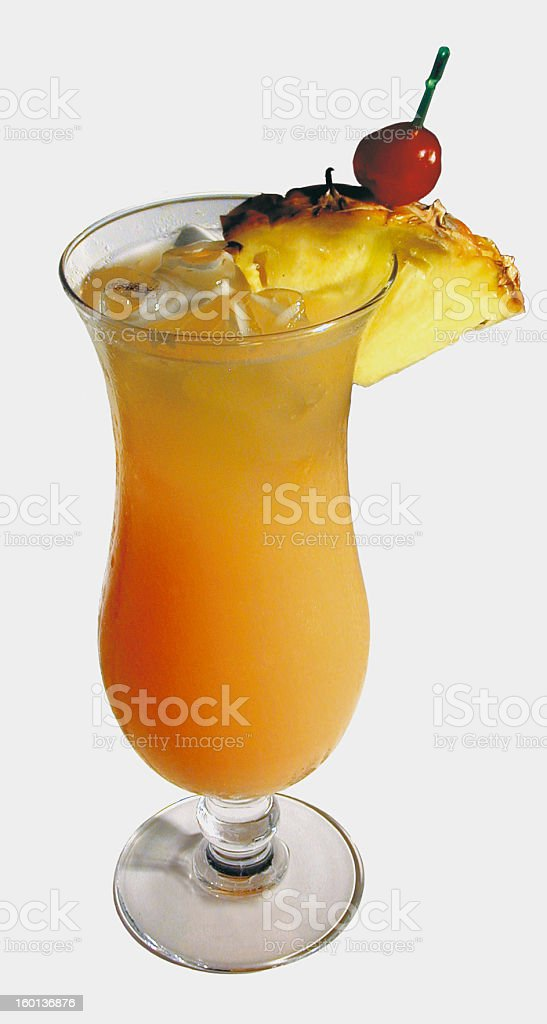 Cocktail hurrican stock photo