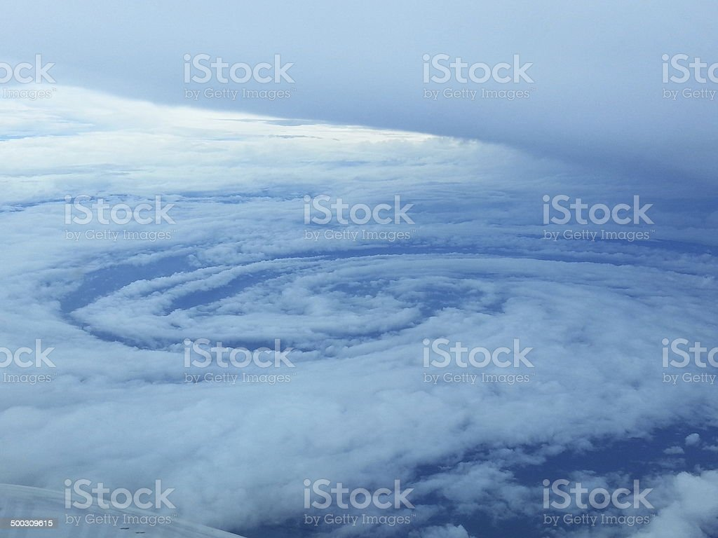 hurricane arthur stock photo
