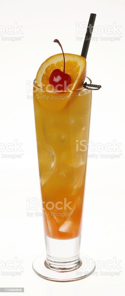 Hurricane Cocktail stock photo