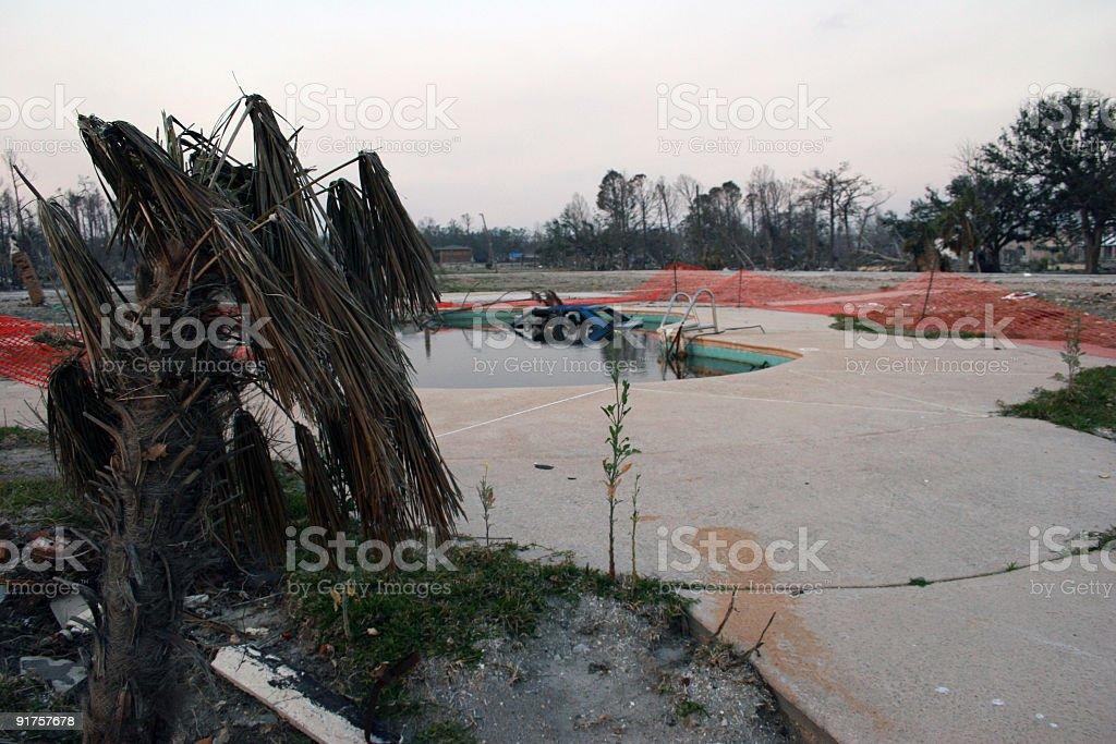 Hurricane Destruction stock photo