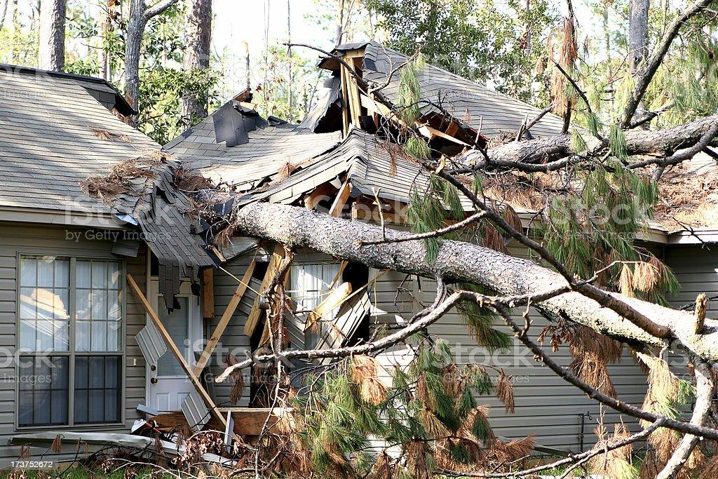 Hurricane Katrina Damage 02 royalty-free stock photo