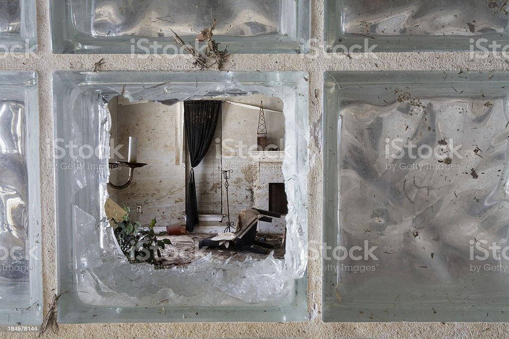 Hurricane Katrina Damage stock photo