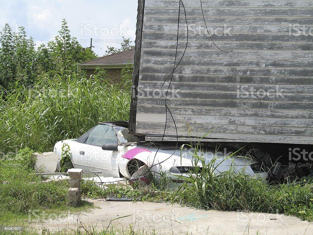 Hurricane Katrina - Ding Dong royalty-free stock photo