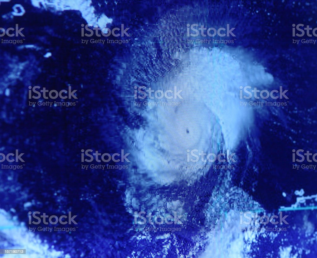 Hurricane stock photo